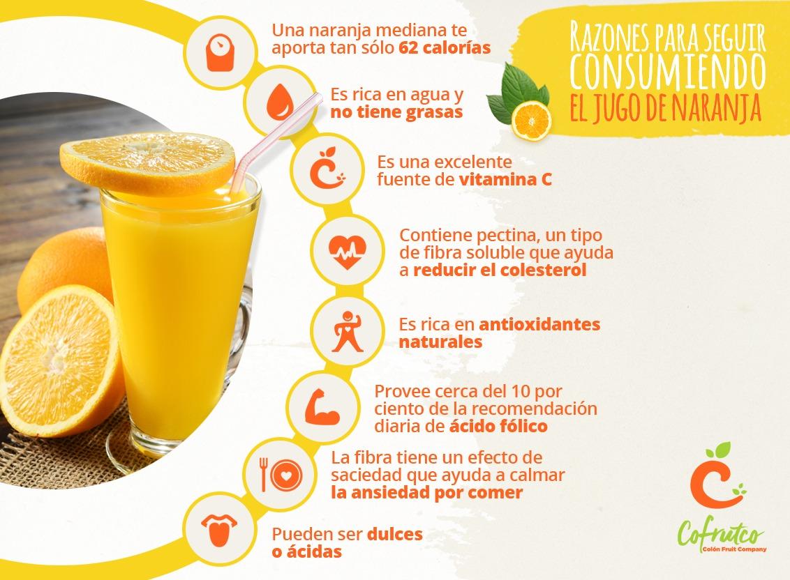 Jugo concentrado de naranja